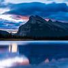 Sunset in Banff National Park, Alberta, Canada