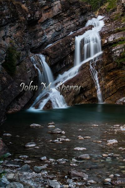 Waterton Waterfalls
