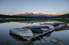 Sunrise at Patricia Lake