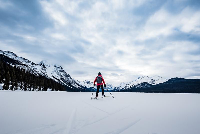 Scenic Skate Ski