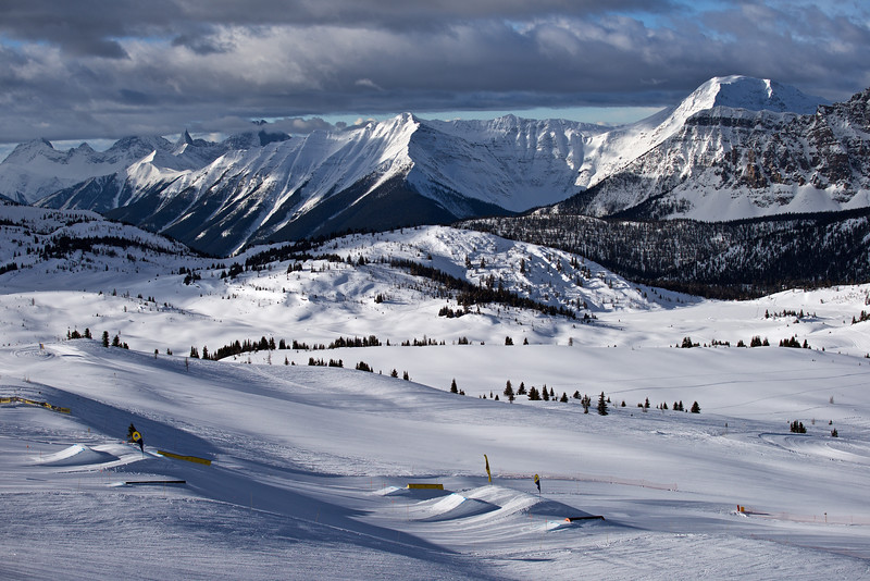 Sunshine Village Ski, Banff National Park, Alberta, CA