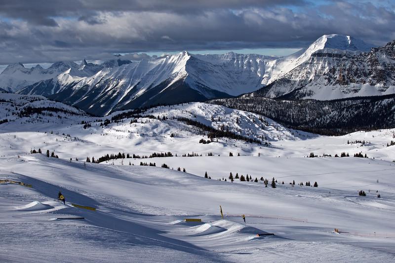 Sunshine Village Ski, Banff National Park, Alberta, CA