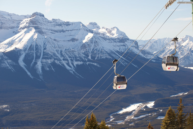 Grizzly Express Gondola, Lake Louise, Banff National Park, Alberta, Canada