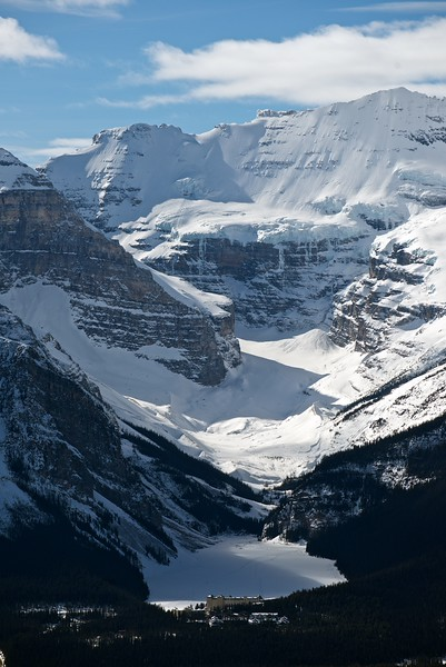 Mt. Victoria, Lake Louise, Banff national Park, Alberta, Canada