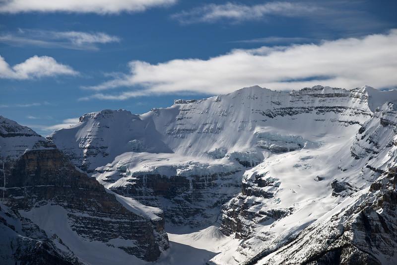 Mt. Victoria, Lake Louise, Banff national Park, Alberta, Canada