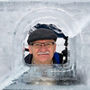 Through the Ice Castle Window