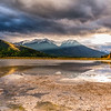 Autumn Light at Vermillion Lakes in Banff National Park, Alberta, Canada