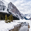 A Winter Day in Lake Louise
