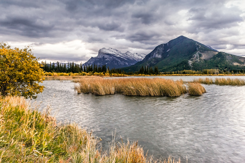 Mt. Rundle and Vermillion Lakes, Banff National Park