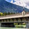 The Indian Head Bridge - Banff Ave.