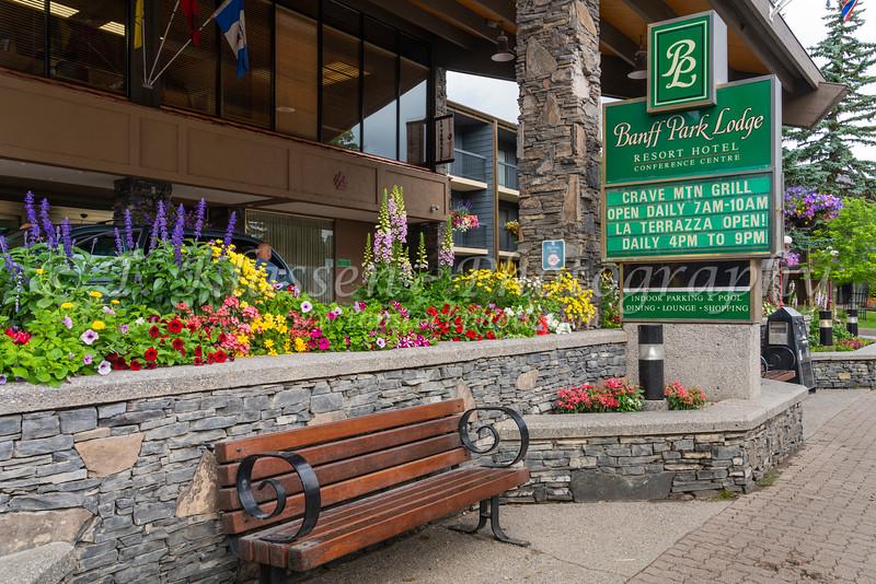 The Banff Park Lodge, Banff, Alberta, Canada.
