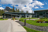 The Banff Center Inspiring Creativity Campus in Banff, Banff National Park, Alberta, Canada.