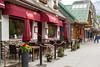 An Italian restaurant on mainstreet in downtown Banff, Banff National Park, Alberta, Canada.