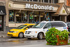 McDonald's restaurant in downtown Banff, Banff National Park, Alberta, Canada.