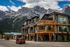 A condo resort in Canmore, Alberta, Canada.