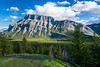 A view of Mount Rundle from Tunnel Mountain in Banff, Banff National Park, Alberta, Canada.