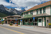 The historic Canmore Hotel in Canmore, Alberta, Canada.