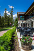 Fairmont Jasper Park Lodge in Jasper National Park, Alberta, Canada.