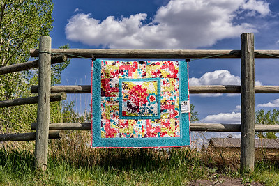 Blowin' in the Wind - 'Butterfly Garden' Quilt