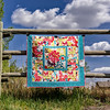 Blowin' in the Wind Ouilt Series- 'Butterfly Garden' Quilt