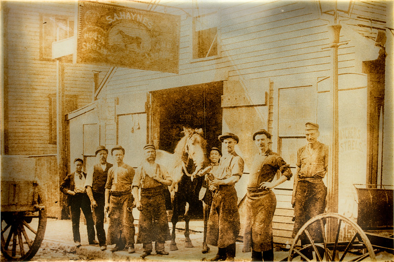 Historical Image from Gasoline Alley, Heritage Park