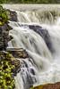 Athabasca Falls in Jasper National Park, Alberta, Canada.