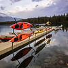 Jasper Park Lodge Boats