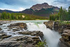 The Athabasca Falls along the Icefields Parkway, Alberta, Canada.
