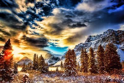 Palmer_Bow_Lake_sunrise