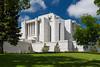 The Mormon Temple at Cardston, Alberta, Canada.