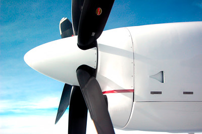 Mid Flight Propeller