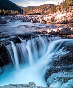 Elbow Falls, Bragg Creek, Alberta, Canada
