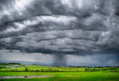 Clouds over Cochrane, Alberta