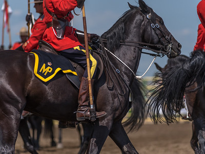 RCMP Musical Ride, Strathmore Rodeo, Alberta