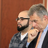 Alberto Sierra was in Worcester District Court on Tuesday morning for a change of plea agreement to guilty. SENTINEL & ENTERPRISE/JOHN LOVE