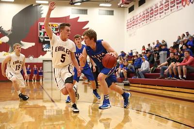 Pella, Iowa February 16, 2017 -- Pella Christian high school boys basketball vs Albia. Courier Photo by Dan L. Vander Beek