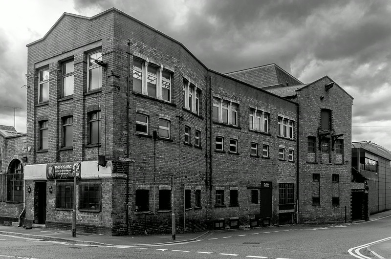 Phipps NBC, Albion Brewery, Commercial Street- Foundry Street, Northampton