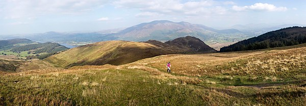 Sun 21st Sep 2014 : Lords Seat Panorama