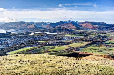 Mon 30th Jan : Latrigg : Keswick and the North Western Fells