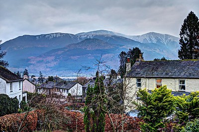 Fri 22nd Jan : Skiddaw From Our House