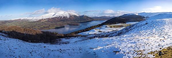 Tue 13th Feb : Sale Fell : Skiddaw & Bassenthwaite Lake : The Best View