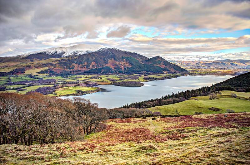 Sun 4th Feb : Sale Fell : Bassenthwaite Lake and Skiddaw