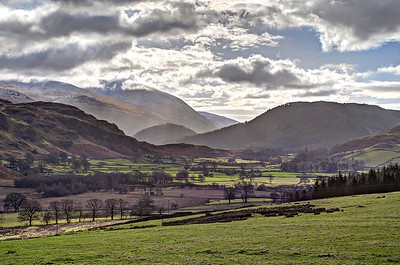 Fri 2nd Feb : View South From Castlerigg Stone Circle