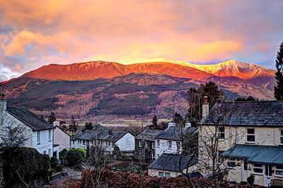 Thu 1st Feb : Thornthwaite : Skiddaw Sunset