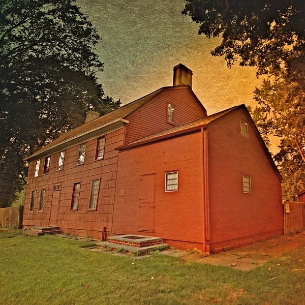 Original Richard Latting House, Village Commons, Huntington Village, Sufolk County, New York
