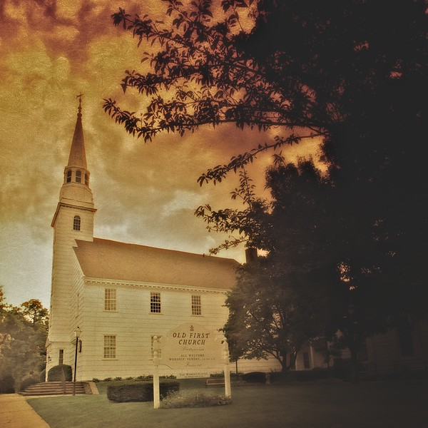 Old First Church, Village Green, Huntington Village, Sufolk County, New York