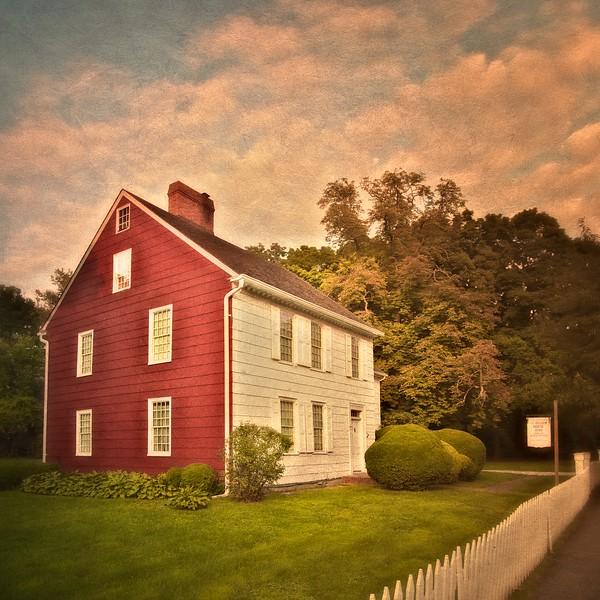 Kissam House, <br /> c. 1795, Village Commons, Huntington Village, Sufolk County, New York