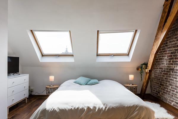 Airbnb zolderverdieping te Gent