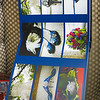 Another photo of albums with canvas pages that are also available at an additional cost.