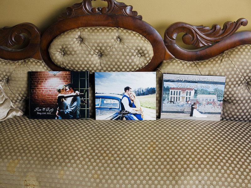 8 x 10 Hardback Coffee Table Book, can also be used as a guest signature book w/ engagement photos (see middle album).  These albums are available in :<br /> <br /> 6x7.5 in $125<br /> 8x10 in $175<br /> 12x12 in $225